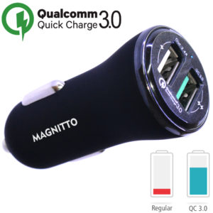 dual usb quick car charger